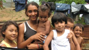 Vulnerable children in Managua touched by Orphans Heart