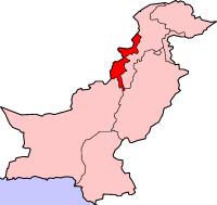 (Pakistan tribal/Taliban map courtesy Wikipedia)