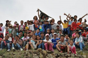 Last year's Summer Bible Camp in Mongolia.  (Image courtesy Russian Ministries)