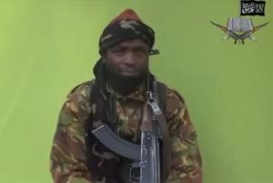 Abubakar Shekau, leader of the Boko Haram.  (Photo courtesy Wikimedia Commons)