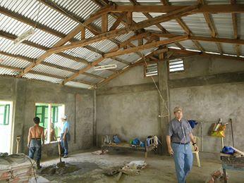 School opens in the Philippines typhoon zone