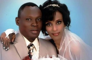 (Wedding photo of Meriam Ibrahim and Daniel Wani, courtesy Daniel Wani)