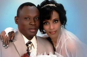 (Wedding photo of Meriam Ibrahim and Daniel Wani, courtesy Daniel Wani)