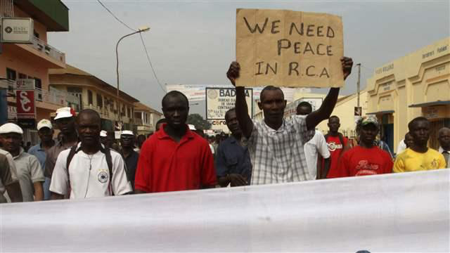 Violence erupts, threatening the peace of Central African Republic