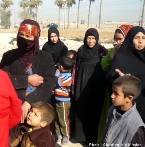 Iraqi believers face an uncertain future. (Image, caption courtesy Christian Aid)