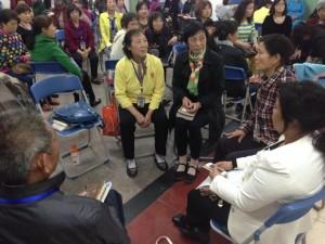 Small Group Ministry training.  (Image courtesy China Partner)