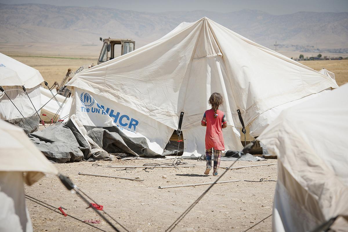 Providing meals for refugees