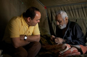 Global Aid Network ministers to refugees in the Middle East (Photo courtesy of GAIN USA)