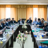 Evangelical leaders meet in Kiev.  (Image courtesy IRS.IN.UA via Russian Ministries)