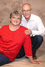 Andrew Howell and his wife Margaret are reaching the French for Christ. (Image courtesy The Mission Society)