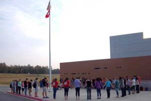 "Each fall, ""See You At The Pole"" gathers U.S. students at the flag pole to pray for their nation."