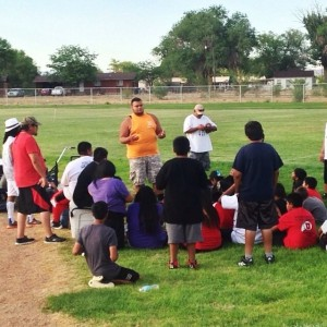 "A young man shares his ""Hope Story"" with fellow Native youth.  (Image courtesy RHM)"