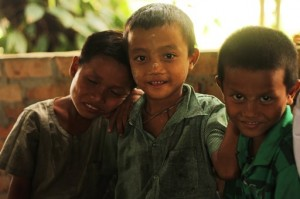 Many of the children we serve have been found on the streets after being abandoned, or were left at the orphanages because their parents were too poor to feed them. (Photo by VBB)