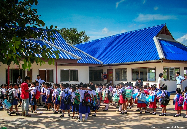 For the past 15 years, Mercy Christian School has taught the fundamentals of academics and the Christian faith to underprivileged children in Thailand (Photo courtesy of CAM)