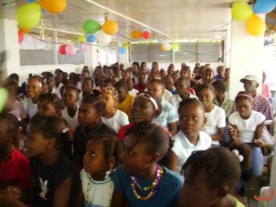 Christmas in August preps for December outreach