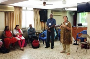 India Partners' training sessions included times of prayer and encouragement.  (Image courtesy India Partners)