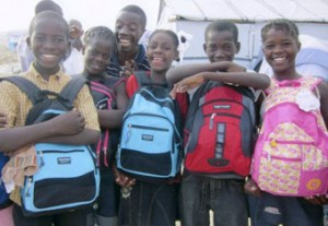 Millions of Orphans don't have any way to go to school because they don't have the right supplies. (photo courtesy of Orphan Outreach)