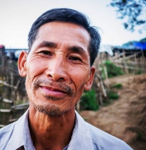 Seng Khum is a volunteer coordinator for the Community Support Network (CSN), which comprises more than 150 volunteers who provide care and counseling for displaced people living in camps in Kachin State. (Partners Relief and Development Photo)