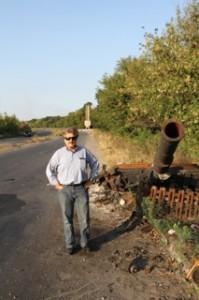 Sergey Rakhube in Slavyansk
