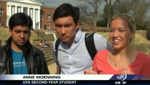 University of Virginia students respond to Turn or Burn T-shirts