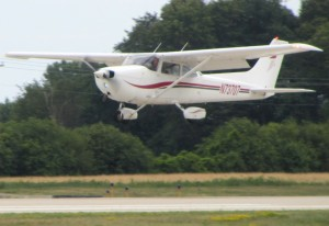 The Cessna 172 is not only the most popular light aircraft, but also the most produced aircraft of any kind.