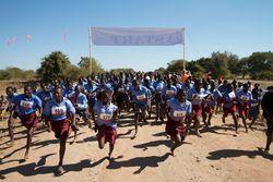 Fun run raises funds for community center