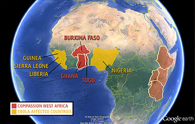 Ebola outbreak in West Africa prompts protocol measures