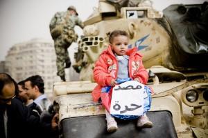 Egypt is free (Photo courtesy of Hossam el-Hamalawy/Flickr creative commons)
