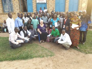 Some of the graduates of ECM's training program in the Congo. (Photo courtesy of Lorella Rouster/ECM)