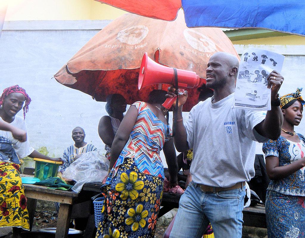 Ebola education initiative needs your help