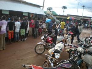 EFCA_Ebola education motorbikes 09-09-14