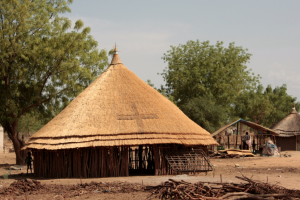 A roadside church in Bor, South Sudan (Photo courtesy of Food for the Hungry)