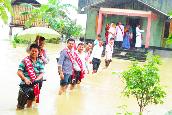 Nepal floods submerge 80 more villages