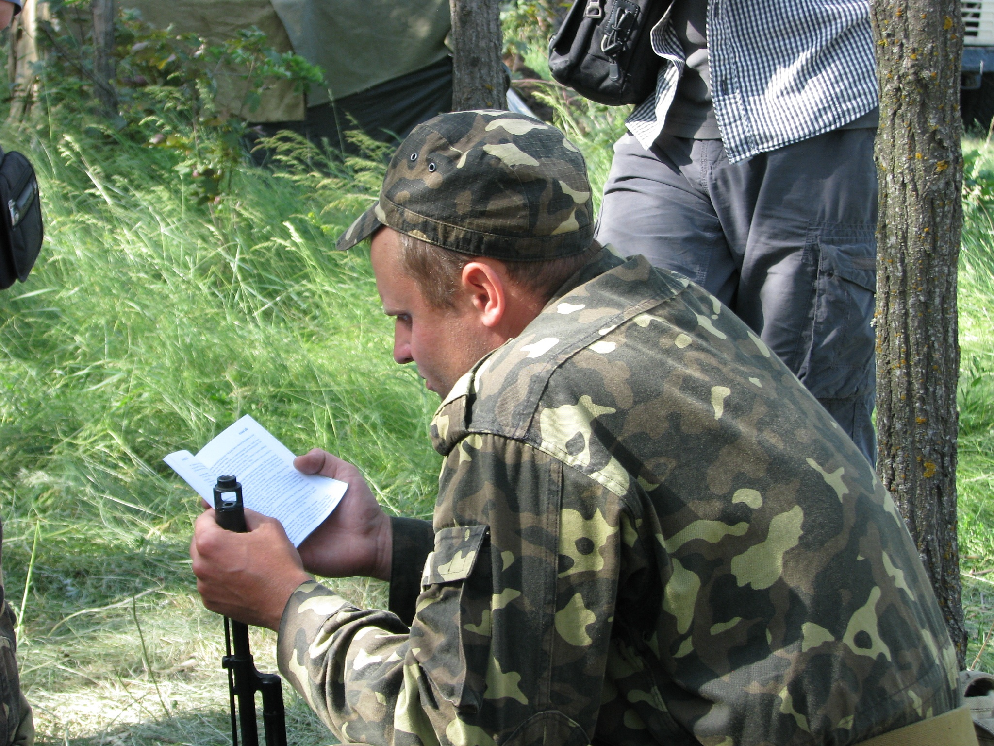 Soldier saved in Ukraine, now reaching out