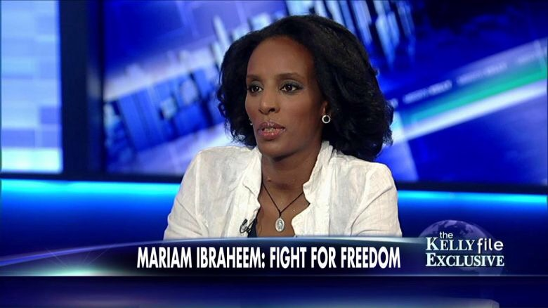 God's not done with Mariam Ibraheem