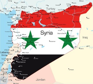 Syria map - 8thirty8 page