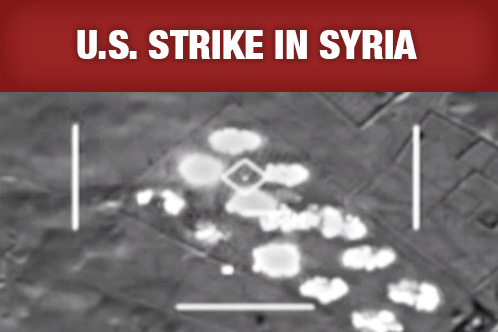 Good news emerges from Syrian bombing