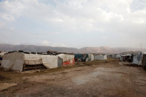 (Photo of refugee camp in Bekka Valley courtesy Flickr/cc/UK Department of International Devlopment)