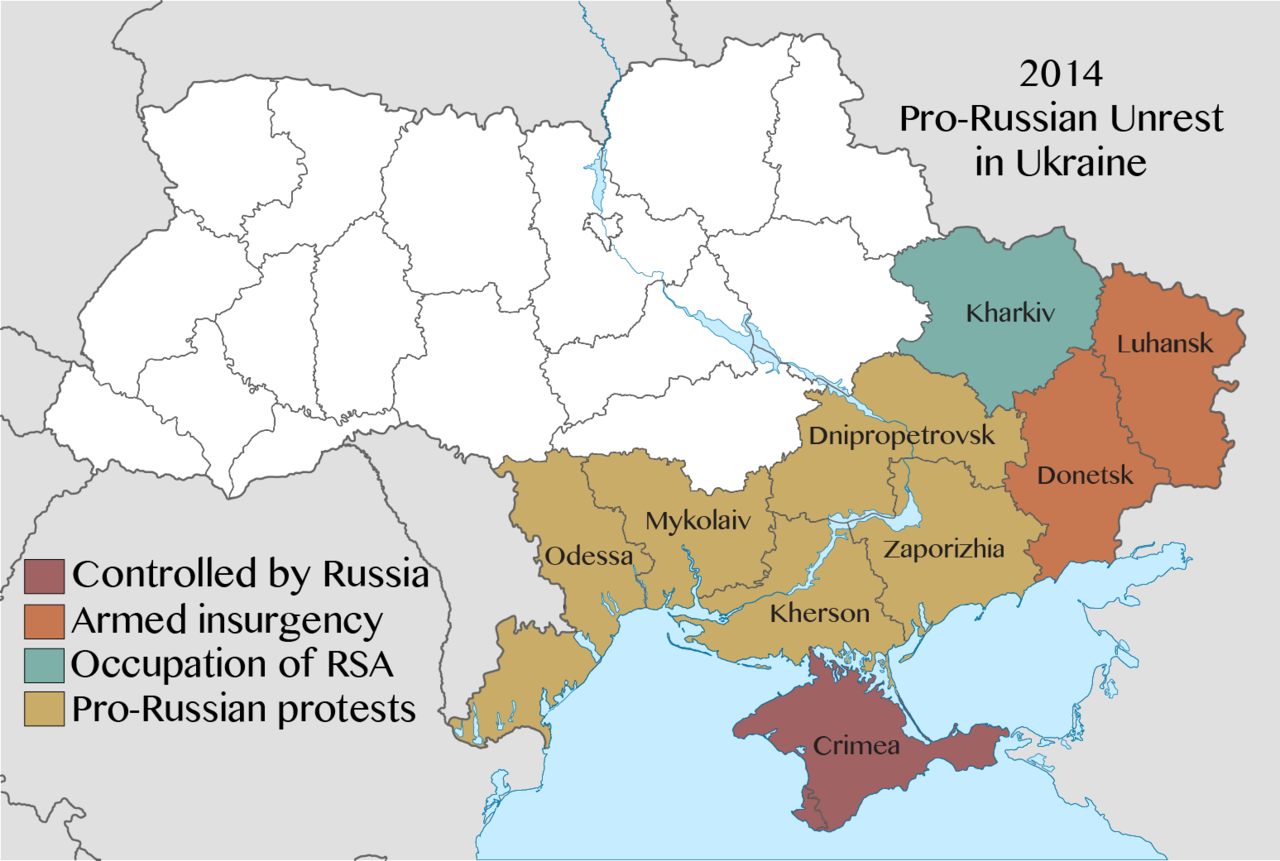Anniversary of Russian-Ukrainian conflict
