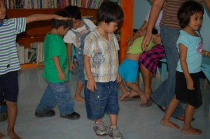 (Childcare center: Photo courtesy AMG International)