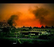 (Photo of India's communal violence courtesy Wikimedia Commons)