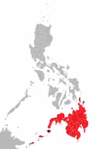 (Map of Mindanao courtesy Wikimedia)
