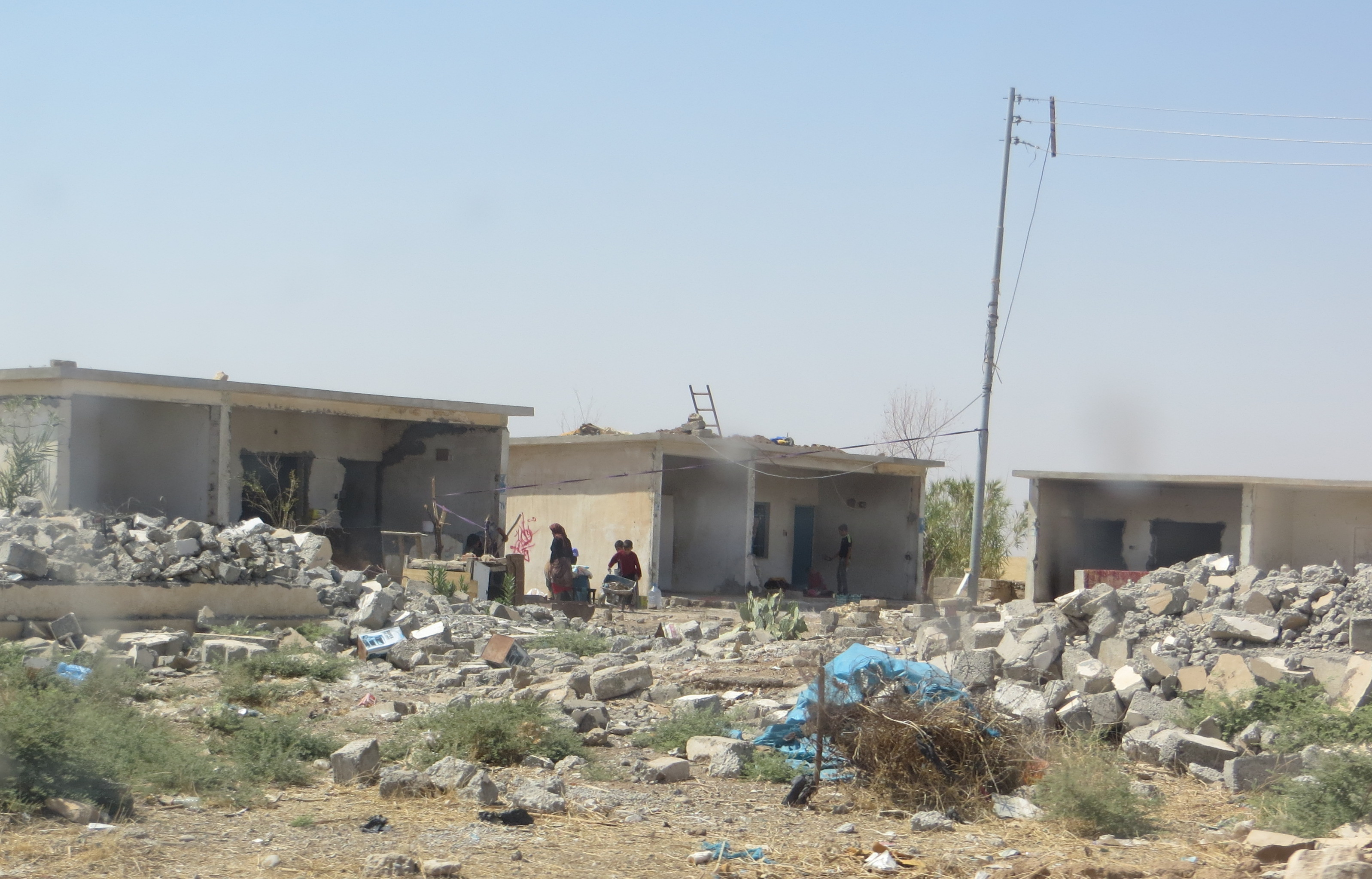 Iraq destruction