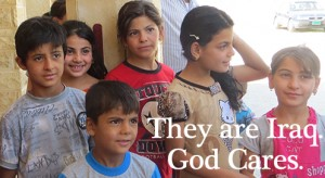 They are Iraq. God cares.