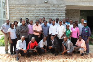 Deaf Bible Training and Translation Staff in Kenya.  (Photo, caption cred: DOOR)