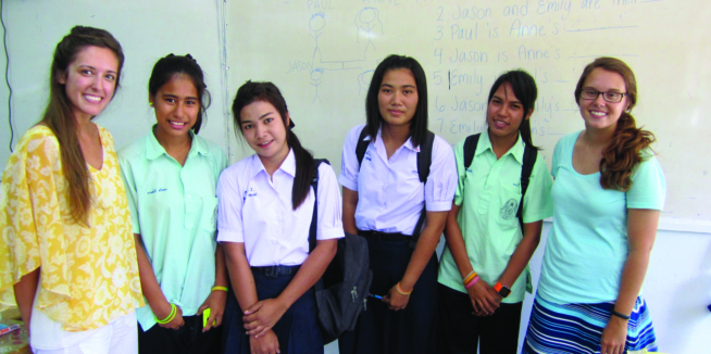 In Thailand as learners