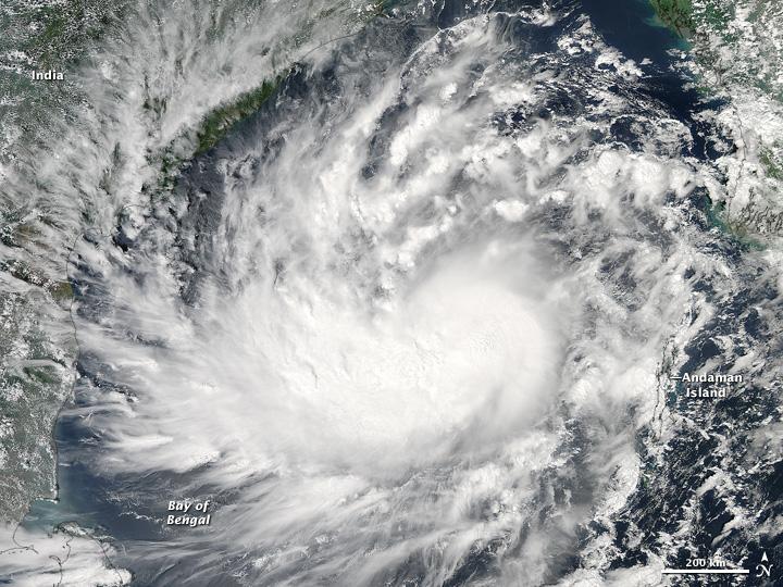 Storm damage and spiritual warfare
