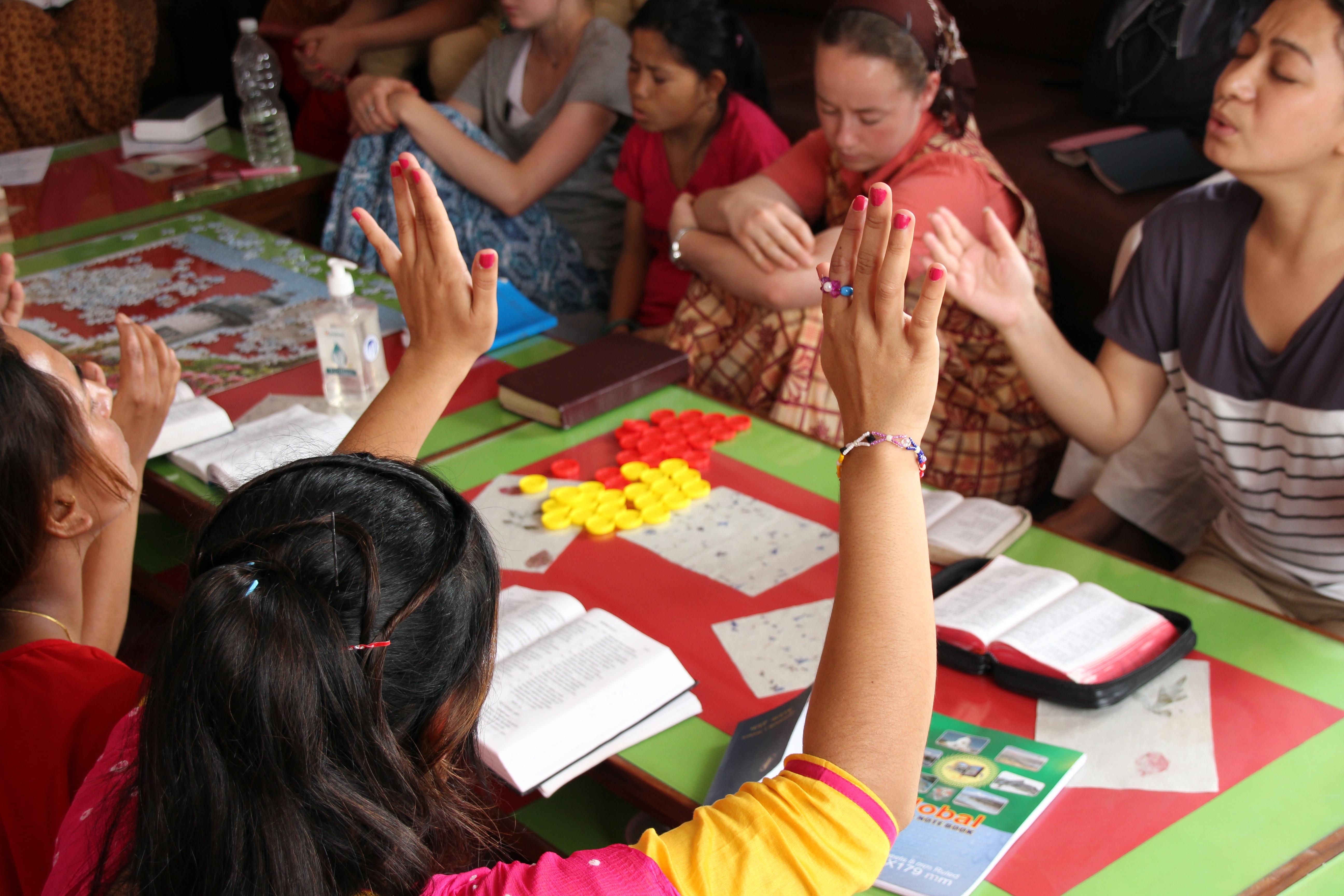 Volunteers aid human trafficking victims