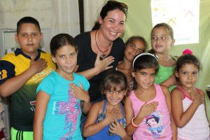 """WorldServe Canada's children's ministry partner in Cuba recently sent them pictures, writing: """"It is unusual for these forgotten children to receive gifts. But God is sending us there, wherever there are children who feel forgotten....We will be there to give hope & life & gladness in Jesus name!"""" (Image, quote courtesy WorldServe Canada)"""