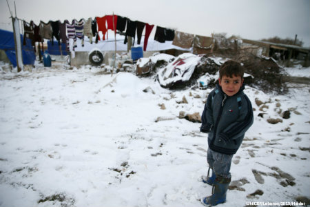 Winter approaches; dire circumstances for refugees